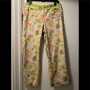 Spring is here!  Floral Capri pants size 10